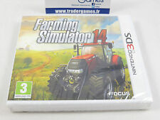 BRAND NEW NEUF  FARMING SIMULATOR 14 NINTENDO 3DS PAL FR NL VERSION