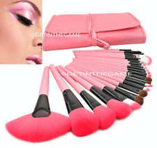 Makeup Brush Set 24pcs Pink Professional Cosmetic Foundation Eyeshadow Eyeliner