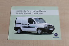 160778) Fiat Doblo Cargo - Natural Power - Prospekt 01/2005