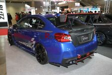 CARBON FIBER CHARGESPEED STYLE REAR BUMPER EXTENSIONS FOR IMPREZA 11 VAB VAF STI