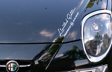Limited Edition powered by Alfa Romeo Motorsport Pegatina Sticker Sport Mind
