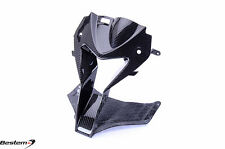 BMW S1000RR HP4 2009 - 2014 Full Carbon Fiber Head Nose Cowl Air Intake Twill