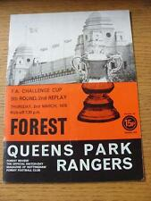 02/03/1978 nottingham forest v queens park rangers [fa cup 2nd replay] (lumière fo