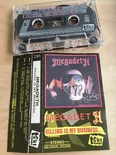 MEGADETH - Killing Is My Business... MC RARE POLISH PRESS 1990