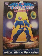 Thanos Quest #1 #2 Marvel 1990 Prelude to Infinity Gauntlet 9.6 NM+ & 9.4 NM