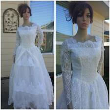 stunning vintage 50s wedding dress wedding gown