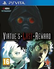 Virtue's Last Reward (PSVITA) NEW SEALED PAL UK SONY