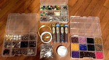 Large lot of Jewelry Making Supplies
