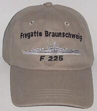 Marine Basecap Mütze Fregatte Braunschweig F225 Kl. 120 .........B3257