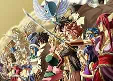 Poster A3 Fairy Tail Gremio / Guild 02