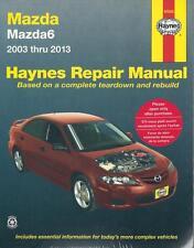 Haynes Workshop Manual Mazda Mazda6 2003-2013 Service & Repair
