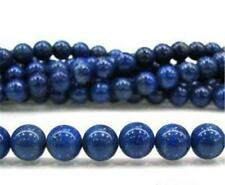 8mm Blue Egyptian Lazuli Lapis Gemstone Loose Bead