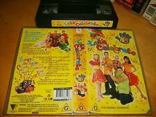 Vhs * Hi5 - Let's Celebrate * 2002 Australian Channel 9 / Roadshow - Kids Issue