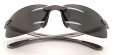 New Polarized Martini M11 Silver / Grey Sunglasses with Maui Jim Cleaning Cloth