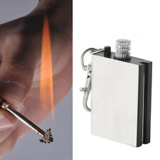 2X Emergency Fire Starter Flint Match Lighter Outdoor Campings Survival Tools GS