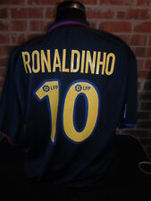 2003-2004 Barcelona Away  Football Shirt  XL (16227) Ronaldinho 10