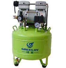 Dental Noiseless Oil Free Oilless Air Compressor Motors 40L Tank 800W 155L/min