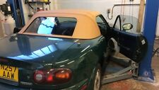 MAZDA mx5 mk1 Miata NA Eunos Roadster SOFT TOP ROOF-Vinile con finestra in materiale plastico