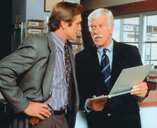 DICK VAN DYKE & BARRY VAN DYKE UNSIGNED PHOTO - 4222 - DIAGNOSIS MURDER