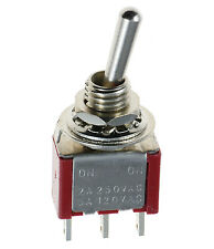 On/On Mini Miniature Toggle Switch Car Dash SPDT