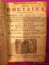 DECLARACION COPIOSA DE LA DOCTRINA CHRISTIANA