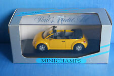 VW NEW BEETLE CONCEPT CAR CABRIOLET YELLOW 1994 MINICHAMPS 430054031 1/43 GELB