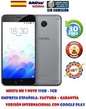 MEIZU M3 NOTE 32GB/3GB NEGRO VERSION INTERNACIONAL + GOOGLE PLAY.FACTURA OFICIAL