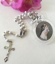24-Wedding Favors Rosaries Cross Scented Party Recuerdos Nuestra Boda Rosario