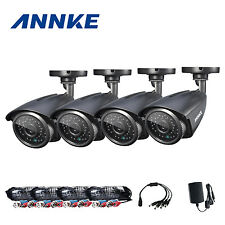 ANNKE 4x 960P 1800TVL HD In/ Outdoor IR Day Night Cameras CCTV Security System