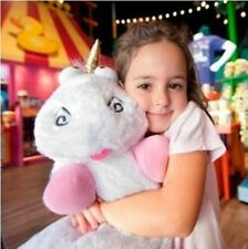 "2016 New 16""40cm Agnes Fluffy Unicorn Soft Plush Doll Toy Pillow Kids Gifts New"