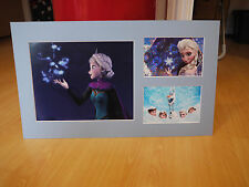 Signed & Mounted Idina Menzel 'Frozen' Photo display - Voice of Elsa - C.O.A.