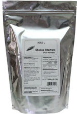 Choline Bitartrate Pure powder 1000g (2.2lb)  smart cognitive