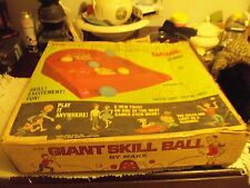 VINTAGE Marx Toys THE GIANT SKILL BALL GAME in original box!  NICE