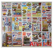 Set 15 sheet of ATV CAR HELMET MOTO-GP SCOOTER BIKE RACING RC Stickers# ATV2C