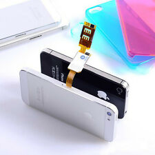 Brand New Dual SIM Card Adapter Converter for Apple Samsung iPhone 6 6S 6 Plus