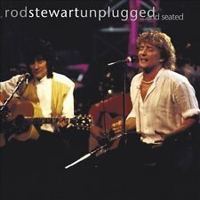 Unplugged...and Seated by Rod Stewart (CD, 1993, Warner Bros.)