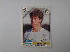 PANINI WORLD CUP STORY - N.218 - WC ITALIA 90 - GIUSTI ARGENTINA