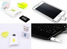 Micro USB Card Reader OTG SD For Samsung Galaxy S 2 3 4 I9100,I9300,I9400,Nexus7