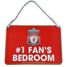 Liverpool Fc Bedroom Sign No1 Fan Door Wall Signage Childrens Room