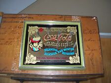 Vintage Coca Cola The Ideal Brain Toxic Framed Mirror