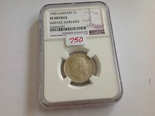 1905 Great Britain Shilling NGC XF Details Surface Hairlines THE KEY DATE
