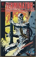 Terminator Secondary Objectives 1991 series # 4 near mint comic book