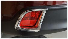 ABS Chrome Rear Fog Light Lamp Cover Trim 2pcs for Toyota Highlander 2014 - 2016