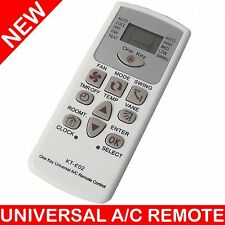 UNIVERSAL AIR CONDITIONER A/C REMOTE CONTROL 4000 CODES BRANDS KT-E02