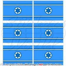 ISRAEL Luftwaffe Flagge ISRAELISCHE Fahne Handy Mini-Aufkleber, Sticker 40mm x6