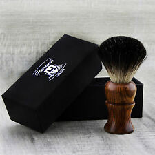 BRAND NEW - 100% PURE BADGER HAIR SHAVING BRUSH - Rose Wood Wooden Brush in USA