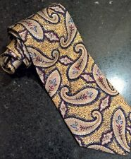 ROBERT TALBOTT FOR MAC HUGH INC MENS ITALIAN SILK NECKTIE,NEW, 0026