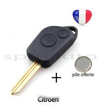 plip coque clé Citroen Xsara Saxo Picasso Berlingo Xsantia 2 bouton xtype + pile