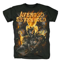 AVENGED SEVENFOLD - ATONE (GLOW) - OFFICIAL MENS T SHIRT