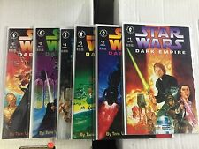 STAR WARS Dark Empire #1-6, All first prints, Dark Horse Comics, FREE SHIPPING
